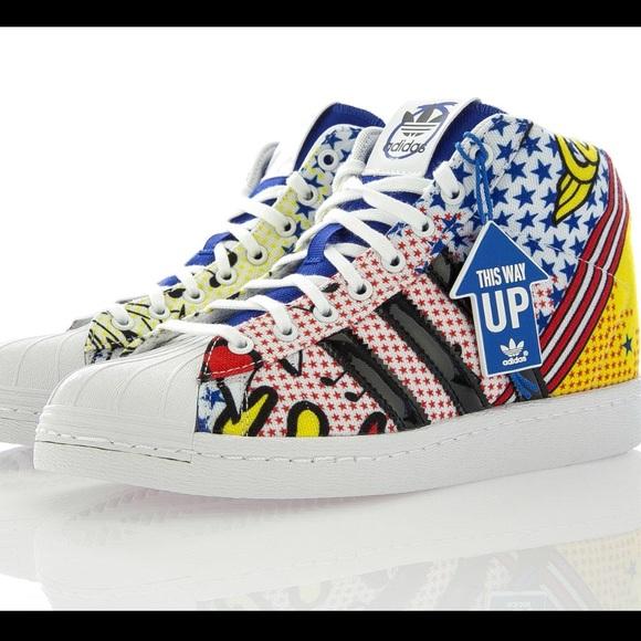 adidas Shoes - RARE Adidas Orig. x Rita Ora Comic Superstar 62e554a21654